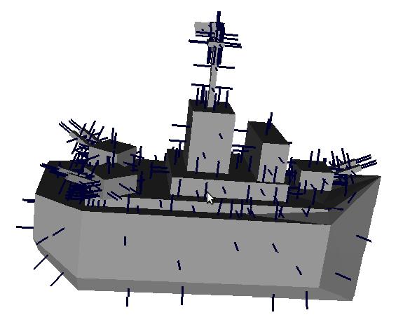 Наїжачений кораблик