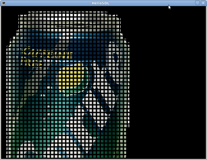 Ось так, я намалював кілька сотень спрайтів. Не зважайте на білі огризки по краях, це все через те, що картинка була в jpeg.