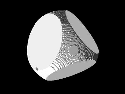 Нормалі в порядку (175224 трикутники)