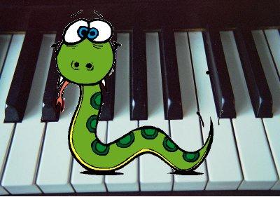 Пітон - музикант