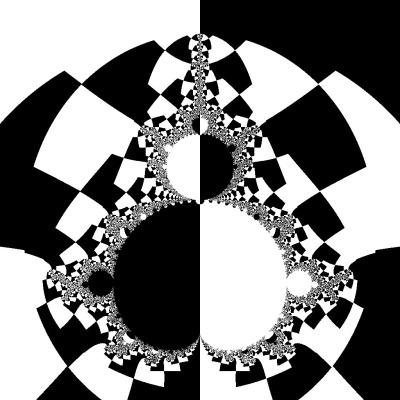 Так я собі уявляв світ Амбера. Амбер - білі, Хаос - чорні, і разом вони відкидають тисячі різноманітних тіней.