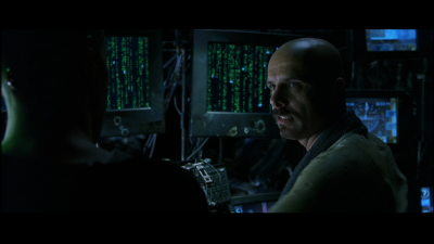 Neo: Do you always look at it encoded? Cypher: Well you have to. The image translators work for the construct program. But there's way too much information to decode the Matrix. You get used to it. I...I don't even see the code. All I see is blonde, brunette, red-head. Hey, you uh... want a drink?