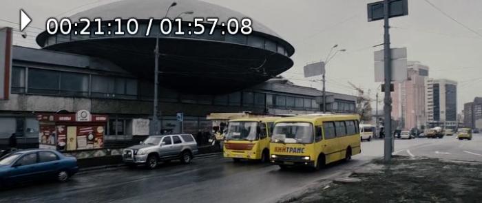 """В """"Москві"""" теж є така """"літаюча тарілка"""" як на Либідській і по місту людей возить Кийтранс."""